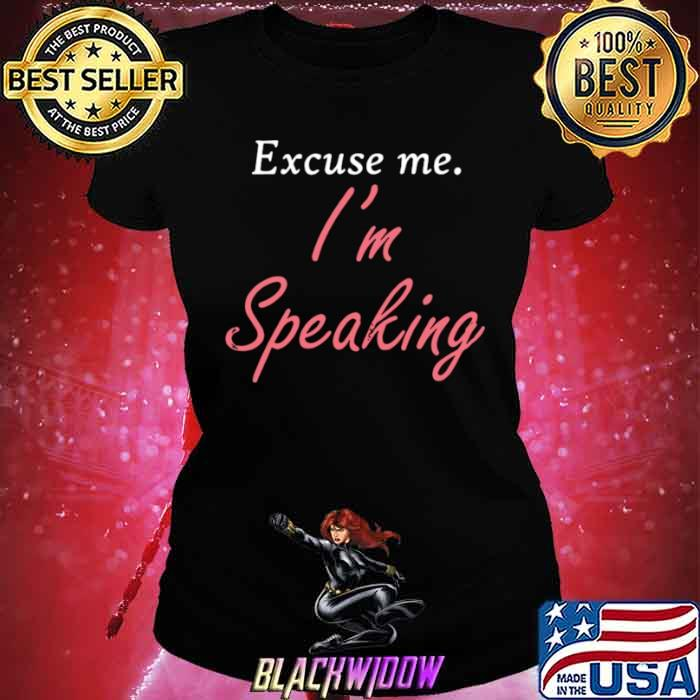 Excuse Me I'm Speaking Kamala Harris I Am Speaking Vp Debate Ladies tee