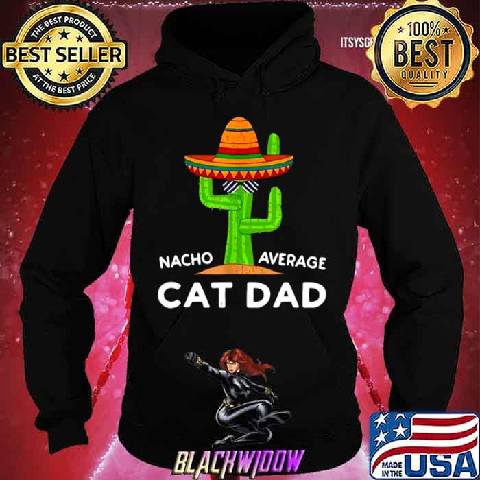 Girl Cat Pet Owner Humor Meme Quote Saying Cat Dad shirt