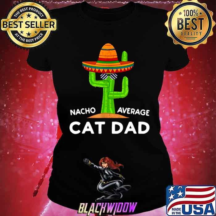 Girl Cat Pet Owner Humor Meme Quote Saying Cat Dad Ladies tee