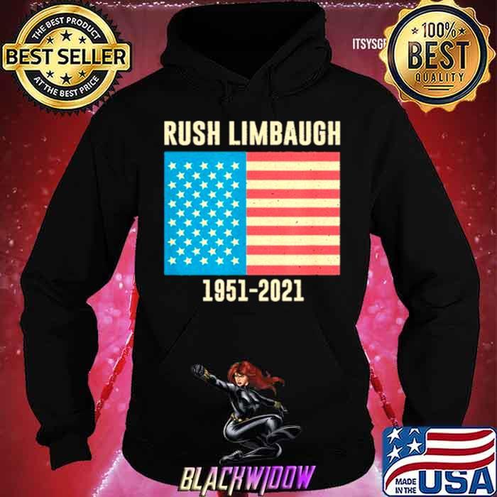 Rush Limbaugh conservative patriot 1951 2021 shirt