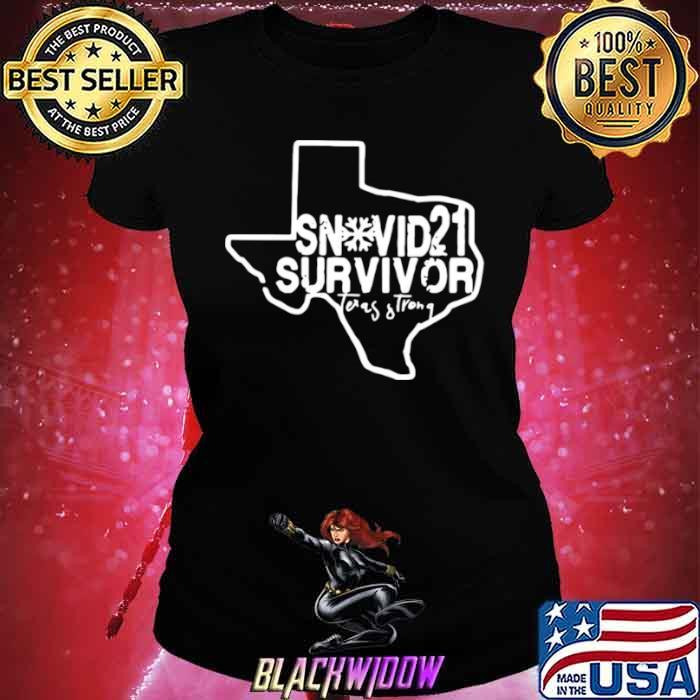 Snovid 2021 Survivor Texas Strong Ladies tee