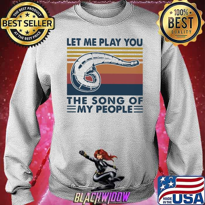 Let Me Play You The Song Of My People Motocross Vintage Shirt Sweatshirt