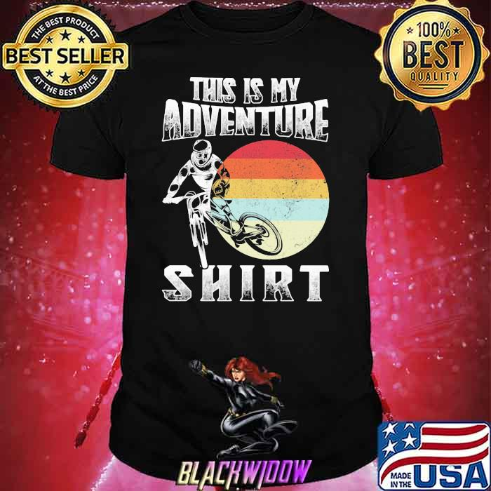 This Is My Adventure Riding Sunset Vintage Shirt