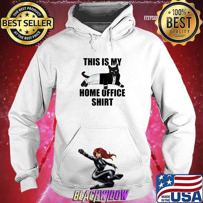 This Is My Home Office Cat Shirt Hoodie