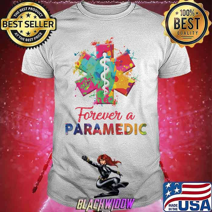 Forever A Paramedic Watercolor shirt