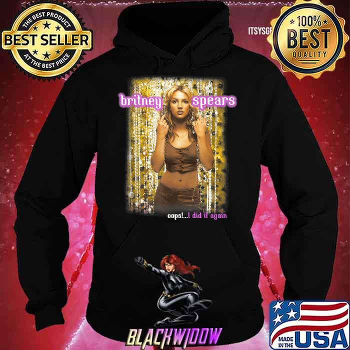 Britney Spears Oops I Did It Again Anniversary Tour Shirt Hoodie