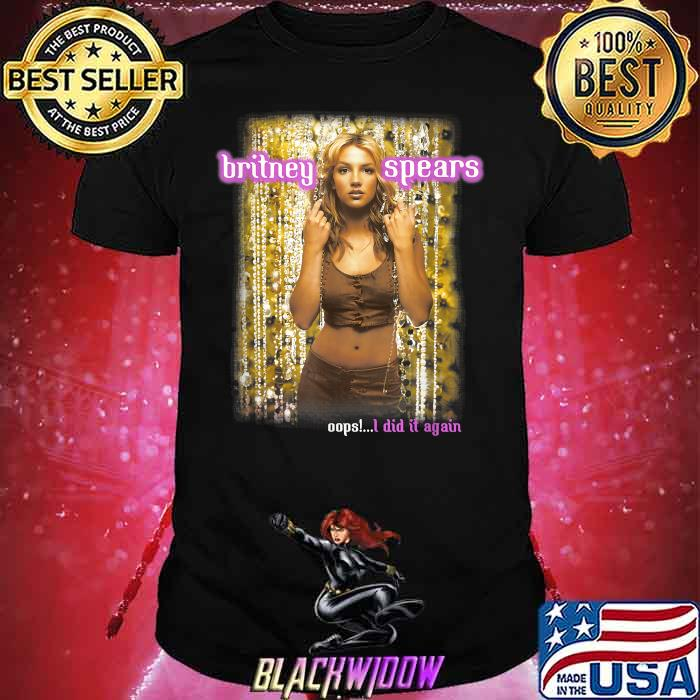 Britney Spears Oops I Did It Again Anniversary Tour Shirt