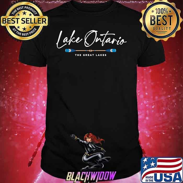 Lake Ontario Great Lakes Oars Graphic Shirt