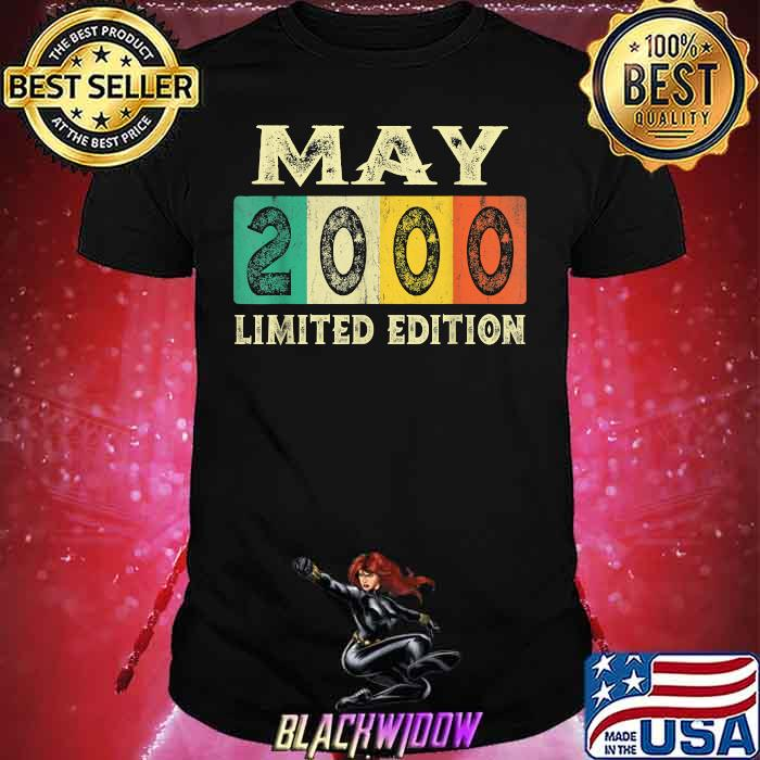 May 2000 Limited Edition 21st Birthday Vintage Shirt
