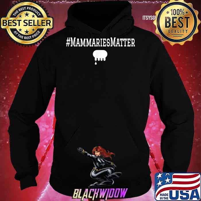 Official Mammaries Matter Shirt Hoodie