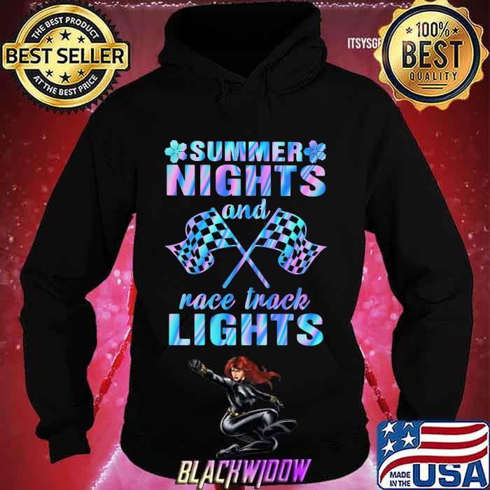 Summer Nights And Race Track Lights Hologram Shirt Hoodie