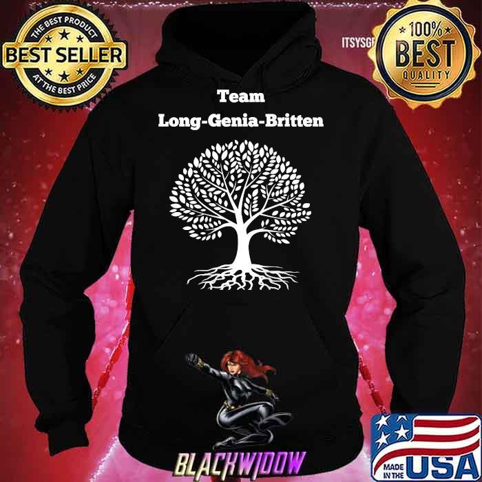 Team Long Genia Britten Tree Shirt Hoodie