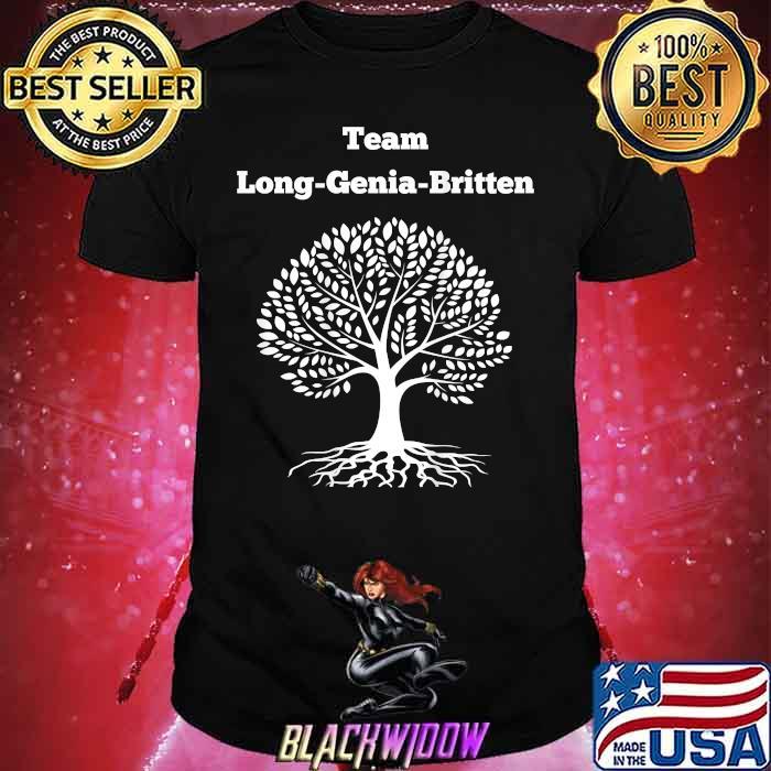 Team Long Genia Britten Tree Shirt
