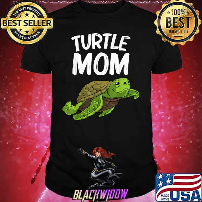 Turtle Mom Land Water Animal Shirt